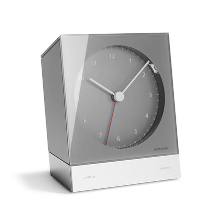 Jacob Jensen - Alarm Clock Series Quartz 340, grey