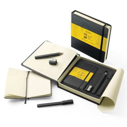 Moleskine - Drawing set - double, open
