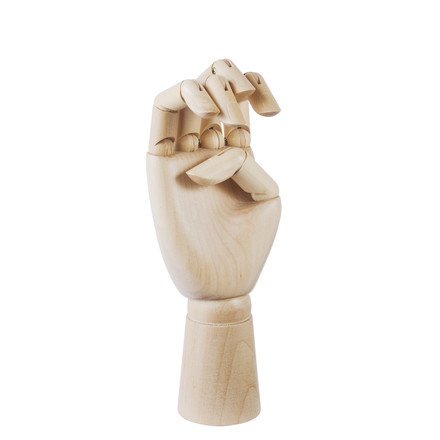Hay - Wooden Hand, medium, single image