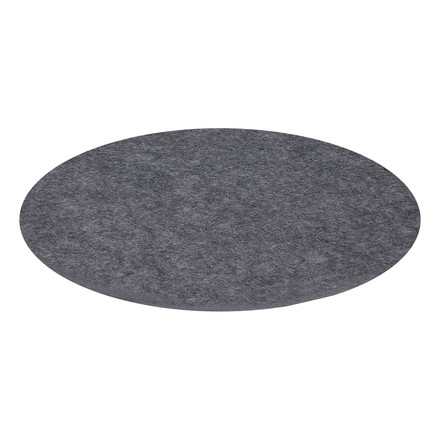 Hey Sign - Saucer round, anthracite