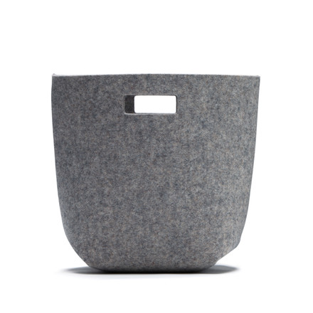 Hey Sign - Paper bin S, anthracite, single image
