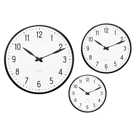 Rosendahl Timepieces - AJ Station wall clock - group, sizes