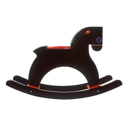 Playsam - Rocking Horse, black