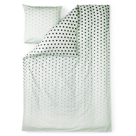 Normann Copenhagen - Cube bed linen, Mint / single image