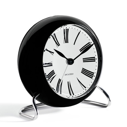 Rosendahl - AJ Roman Table Clock with Alarm - lateral