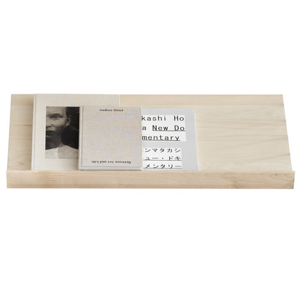 String - Magazine rack, birch wood, single image