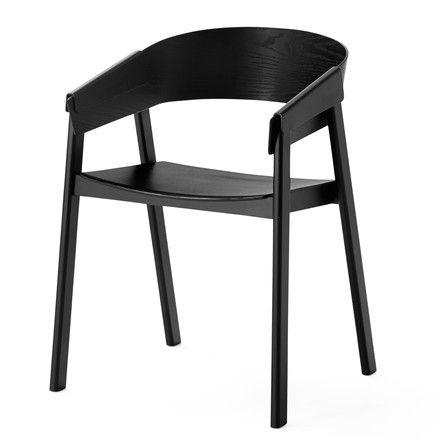 Muuto - Cover Chair, black - single image