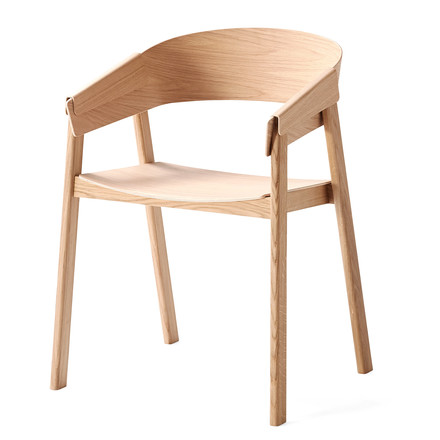 Muuto - Cover Chair, oak - single image