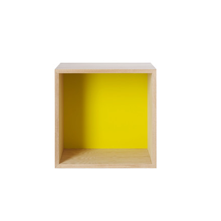 Muuto, Mini Stacked - Medium, yellow
