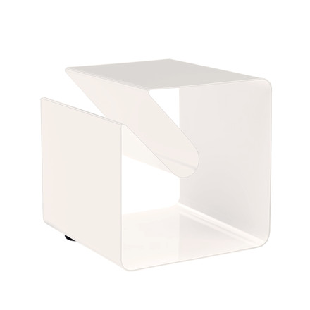 Müller Möbelfabrikation, V44 Side table - single white