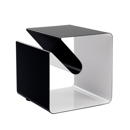 Müller Möbelfabrikation, V44 Side table - black-white