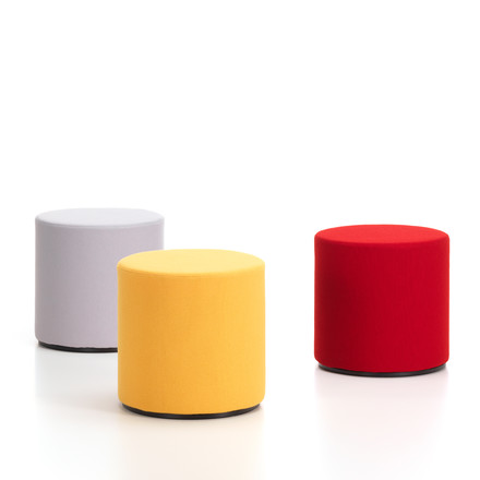 Vitra - Visiona, group yellow / grey / red