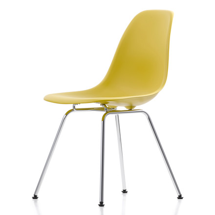 Vitra - DSX Chair yellow, single image