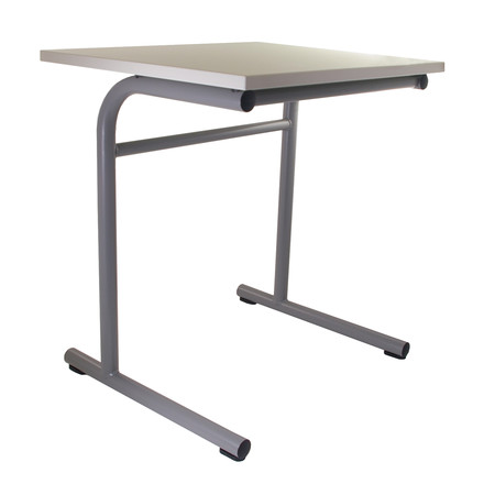 Flötotto - School Table, T-frame / inclined