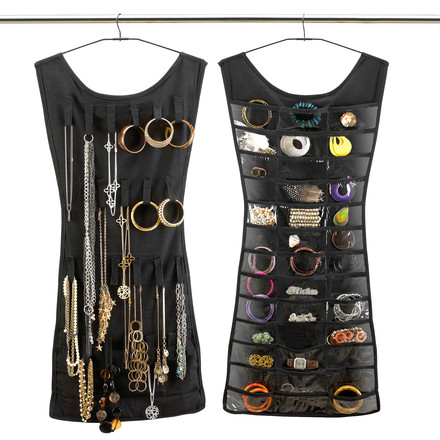 Umbra - Little Black Dress - Jewellery - front and back
