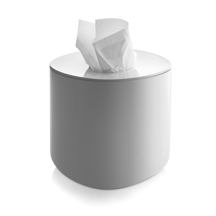Alessi - Birillo Tissues Dispenser PL15 W, white