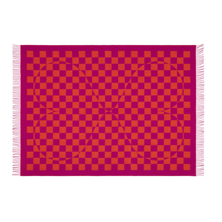 Vitra - Girard Wool Blanket Double Heart - front