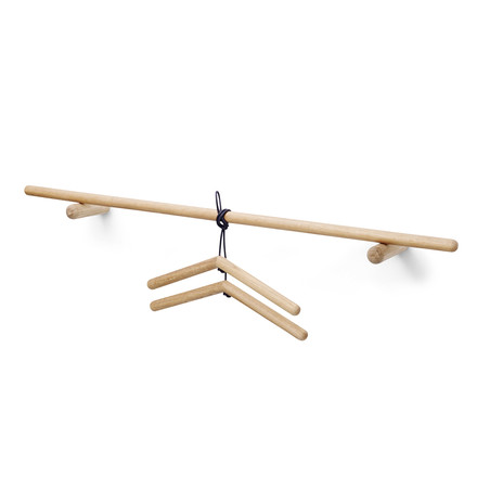 Skagerak - Georg Coat Rack with clothes hanger, oak wood