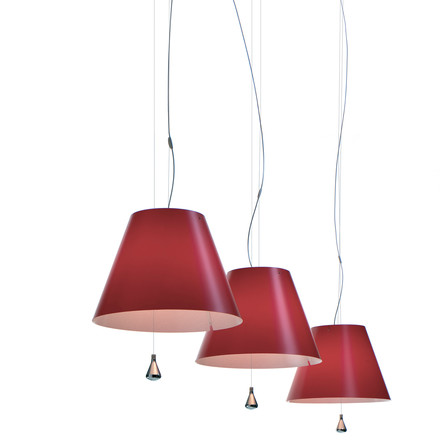 Luceplan - Costanza pendant lamp, red