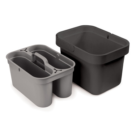 Joseph Joseph - Clean & Store, grey - beside insert