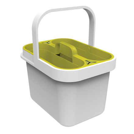 Joseph Joseph - Clean & Store, white - with insert
