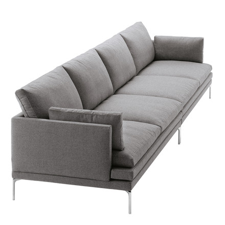 Zanotta - William Sofa, grey - 4 seats