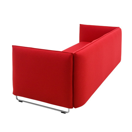 Softline - Metro bed Sofa, red - backside