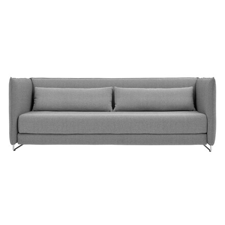 Softline - Metro Bed Sofa, light grey - front