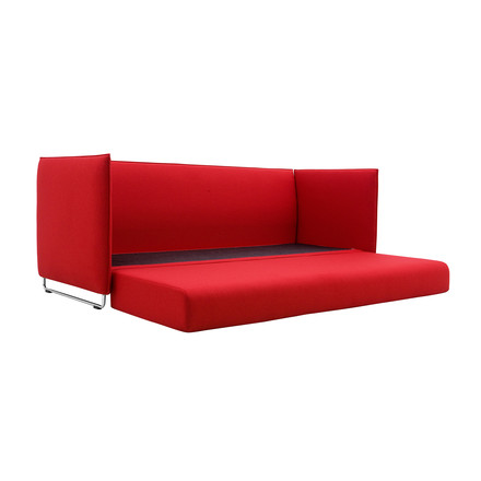 Softline - Metro Bed Sofa, red - unfolded