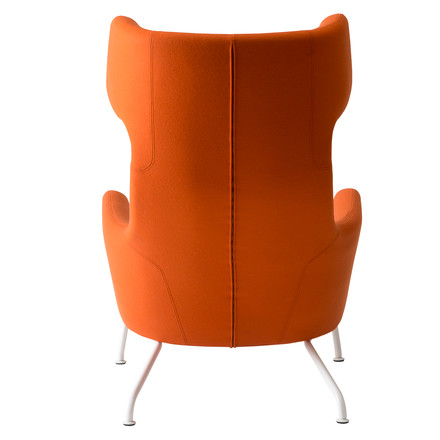 Softline - Havanna Armchair, orange - back