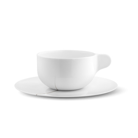 Georg Jensen - Tea with Georg teacup with saucer
