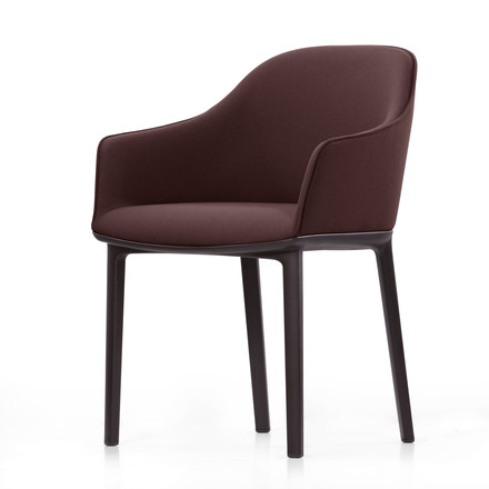 Vitra - Softshell Chair, moss, chocolate
