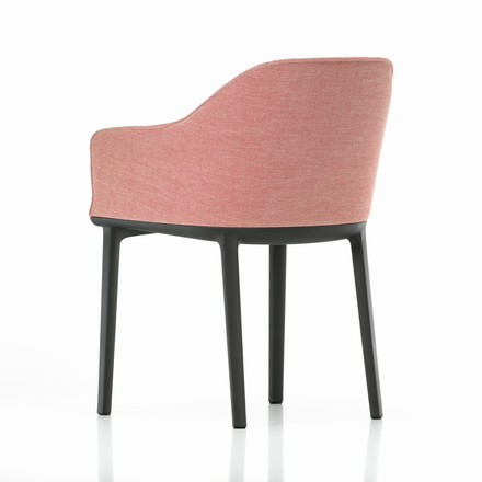 Vitra - Softshell Chair, moss, cream-dark red