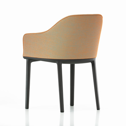 Vitra - Softshell Chair, moss, orange-light blue