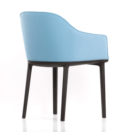 Vitra - Softshell Chair, plano, ice-grey