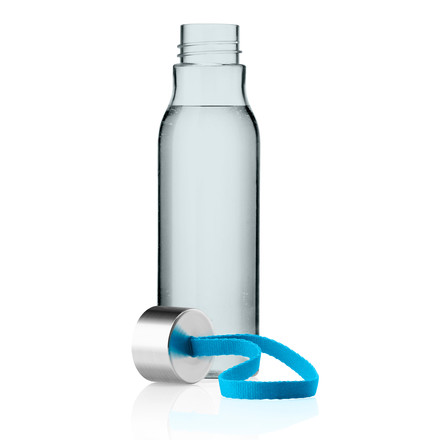drinking bottle open, blue