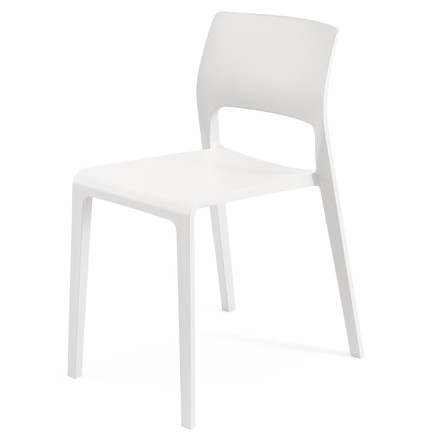 Arper - Juno Chair 3600, white, single image
