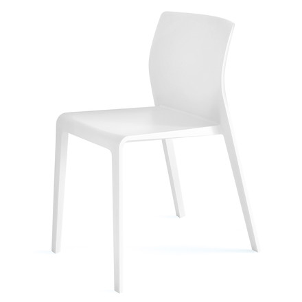 Arper - Juno Chair 3601, white - single image