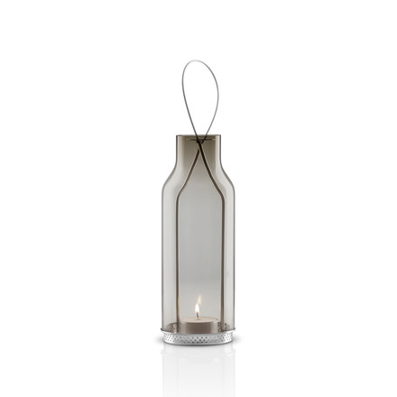 Eva Solo Glass Lantern - 20cm - smoke