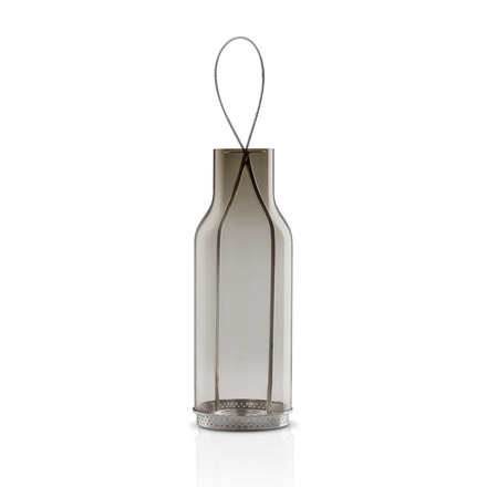 Eva Solo Glass Lantern - 25cm - smoke