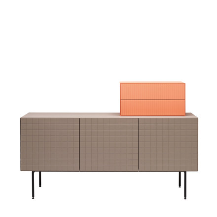 Casamania - Toshi Sideboard, Cabinet 3, feet, warm grey - attachment