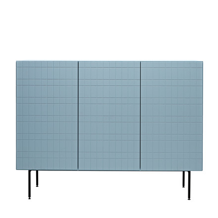 Casamania - Toshi Sideboard, Cabinet 4, with legs, azure
