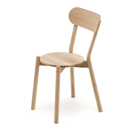 The Karimoku New Standard - Castor Chair in natural