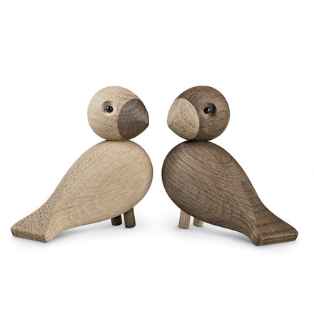 Kay Bojesen Denmark - Lovebirds, set of 2, lateral view