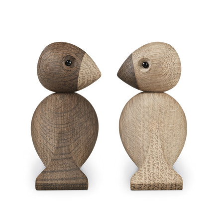 Kay Bojesen Denmark - Lovebirds set of 2, back view