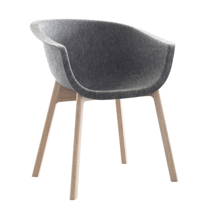 Conmoto - Chairman, oak, grey