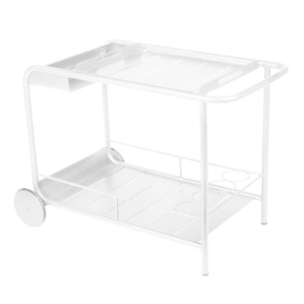 Fermob - Luxembourg Trolley, white, single image