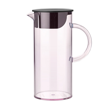 Stelton - Jug with lid, rose, single image