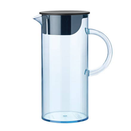 Stelton - Jug with lid, blue, single image