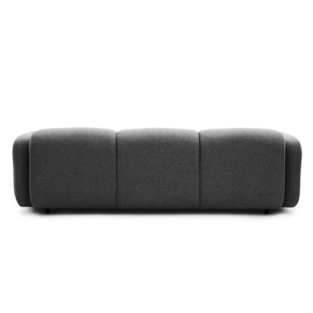 Normann Copenhagen - Swell 3-seats, grey - backside